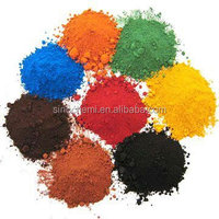 China supplier supply red iron oxide and yellow pigments for making paint/ceramic tiles/concrete
