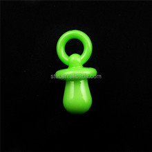China wholesale custom design multicolor pacifier acrylic accessories beads for diy