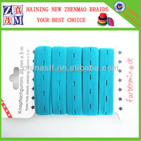 hot sell 25mm button hole elastic tape