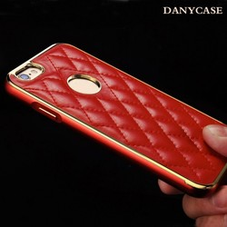 wholesale leather case for iphone 6, metal cover for iphone 6 case luxury , for iphone 6plus