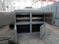 Mesh belt dryer for vegetable and fruit dehydration,chemical product etc
