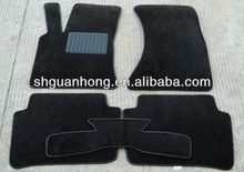 polyester flocked car floor mats with anti-skid bottom auto Interior Accessories Manufacturers Manufacturers in shanghai
