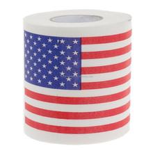 America Flag PrintedToilet Paper / USA Pattern Roll Paper