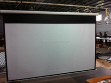 150 inch Manual Projector Screen/Matte White Pull Down Projector Screen. Roll Up Projector Screen 150 inch