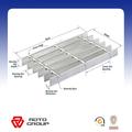 Aluminio reja Panel / Bar Grating para el piso rejilla