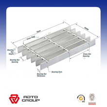 Aluminum Grating Panel/Bar Grating for Floor Grating