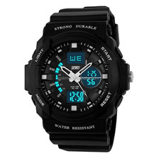 analog digital plastic more time zone chrono function mens discount watches