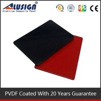 Alusign environmental and safe smell material hot sell acp attractive appearance external cladding materials