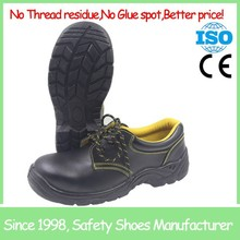 SF691 Black low cut SAIFU brand steel toe cheap safety shoes china