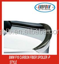 Trunk Lip Spoiler Carbon Fiber Spoiler FOR BMW F10 5 Series