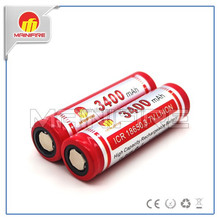 Mainifire 3.7V electric bike 18650 3400mah accu 18650 battery