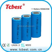 IMR 26650 battery 4000mAh 26650 li-ion batteries for cree flashlight rechageable battery