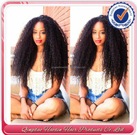 Peruvian Virgin Afro Kinky Wig Short Curly Hair 180 Density 100% Human Hair Glueless Full Lace Kinky Curly Wigs For Black Women