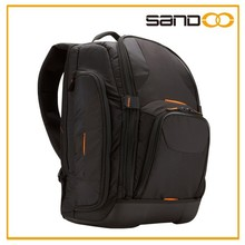 Stylish design camera laptop backpack with multi function