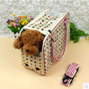 2014 fashion Pet carrier dog cat outdoor bag portable and convenient dog travel carrier