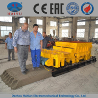 equipment for the production of concrete blocks hollow core slab machine
