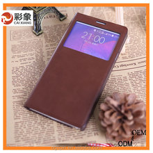 Newest Design Clamshell Case Luxury Leather Popular style case for samsung galaxy core i8260 i8262