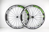 Best price 700c road disc brake carbon wheel bicycle carbon wheelset 50mm