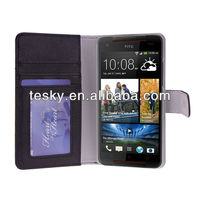 for HTC butterfly s Fachtory wholesale wallet body cover cute case with magnetic closure