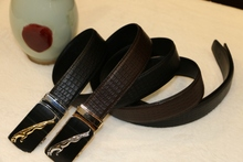 100% Cowhide Genuine Leather Belts For Men Classic Pin Buckle Belts