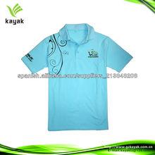 luz azul diseño mordern precio barato 100% camisas de algodón de los hombres del polo t-shirt