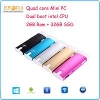 2015 New Arrival Super Small Mini PC Android, Mini PC Android Windows Dual Boot, Desktop Mini PC CPU
