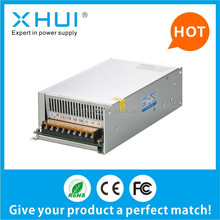 Factory price! single output swithcing power supply S-50012V 40A for led strips