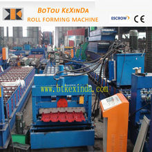 CE and ISO Authentication Glazed Roll Forming Machine for Single Layer Tiles