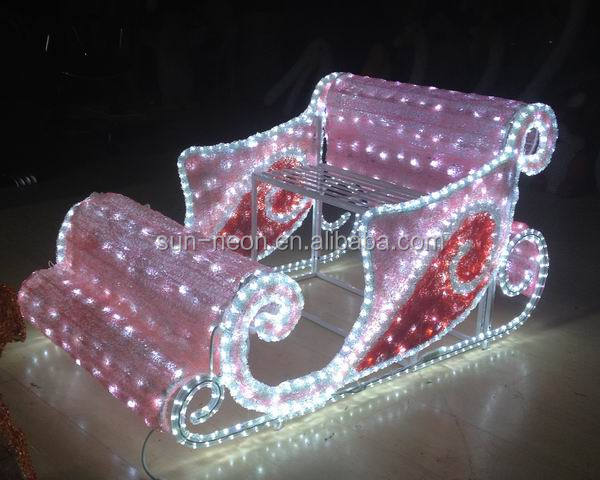 Http Www Alibaba Com Product Detail Christmas Sleigh Indoor Decoration Lighted Outdoor 60385028231 Html