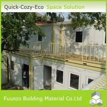 Easy Assembly Energy Saving Movable Demountable 2-storey Contain Office