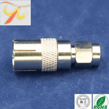 sma male to TV female connector,SMA plug connector for RG178 rg316 rg174,iec c7 connector