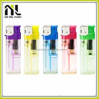 OEM refillable plastic wholesale universal electronic gas disposable luxury cigarette lighters