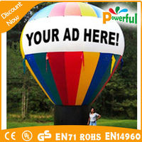 hot air balloon inflatable, advertising inflatable
