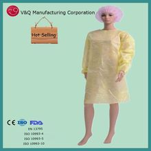 Single use medical gown surgical gown for operating room
