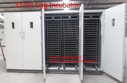 33792 eggs CE approve automatic poultry incubator machine/industrial egg incubator for sale