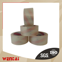 factory made clear/transparent rubber bopp adhesive tape bopp thermal lamination film