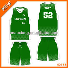 2015 top supply type basketball uniform trendy new in Guangzhou