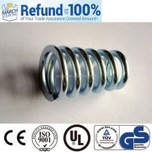 short delivery time flexible steel wire spring conical helical spring bird feeder