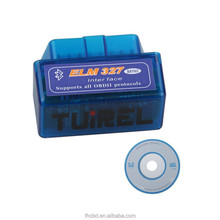 mini ELM327 V1.5 OBD2 OBD-II Bluetooth Auto Diagnostic Tool for Windows XP, Vista, Win7, OSX and Android