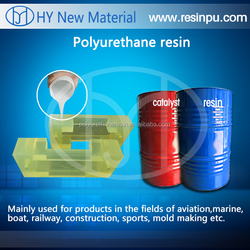 Two component liquid Polyurethane Resin