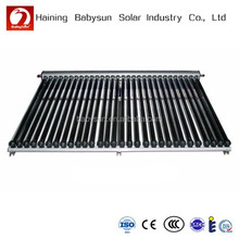 evacuated tube solar collector/pressure solar energy hot water heater, home solar heating