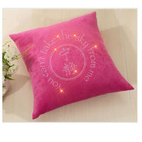 Bling rhinestone pillow case designs, plain cotton throw pillow cover