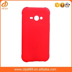 Bright candy tpu mobile phone case for samsung galaxy j1 case many colors