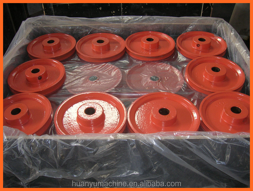GG20 Flat Belt Pulley for Handling Equipment Parts