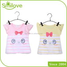 On China market summer 2015 original design simple o neck kids clothing lassock tee