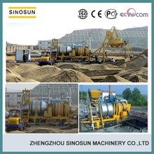 mini mobile asphalt machine,SINOSUN SLB8 asphalt plant machine