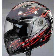 Popular dual visor flip up helmet cascos motorcycles