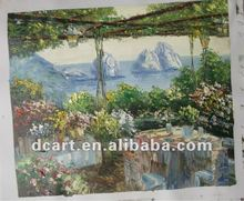 Incredible Colorful Scenery Knife Painting