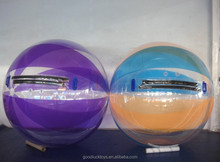New Arrival Hot selling water ball shooting for interest bumper ball zorbing on water