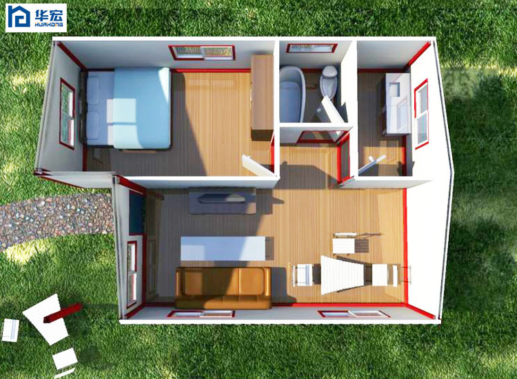 Insulated Hot Sale Durable Prefabricated Ready Made House